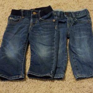 Baby Gap Elastic Jeans (2 Pair) 12-18 months